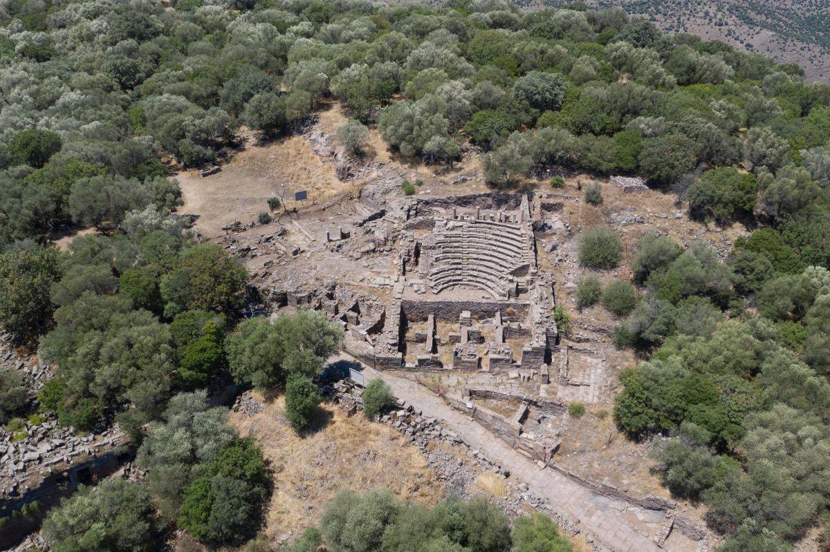 Manisa da 2 bin yıllık Roma Yolu bulundu #2