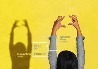 Pantone 2021 yılının renklerini seçti