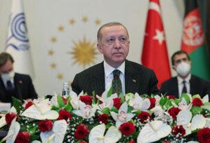 SON DAKİKA: Cumhurbaşkanı Erdoğan'dan Ekonomik İşbirliği Teşkilatı'na KKTC çağrısı